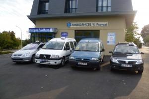 Bureau des ambulances à  Redon en Ille et Vilaine 35